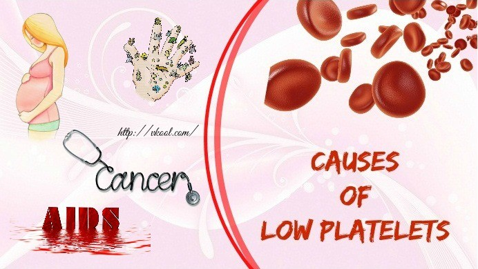 causes of low platelets in adults