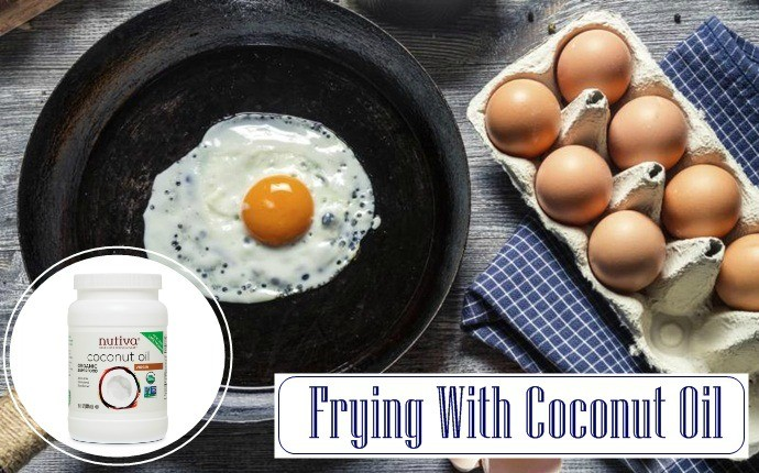 coconut oil for cooking - frying with coconut oil