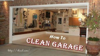 how to clean garage at home
