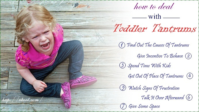 tips on how to deal with toddler tantrums