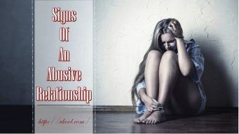 common signs of an abusive relationship