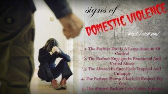 common signs of domestic violence