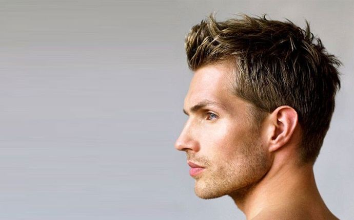 easy short hairstyles - sleek slicked back hairstyle