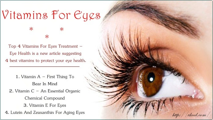 vitamins for eyes treatment