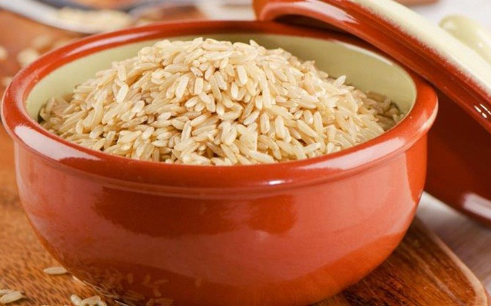 foods high in zinc - brown rice