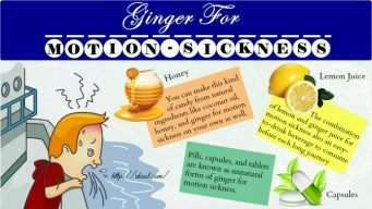 how to use ginger for motion sickness