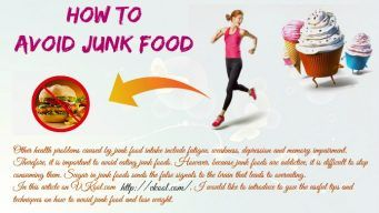 how to avoid junk food and lose weight