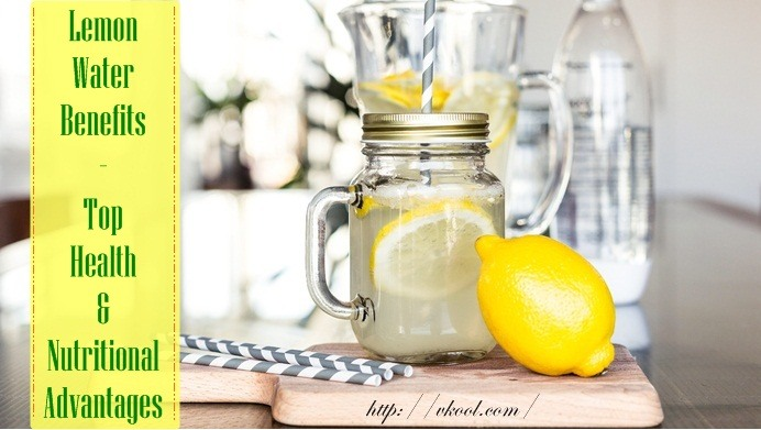 nutritional lemon water benefits