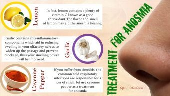 natural treatment for anosmia