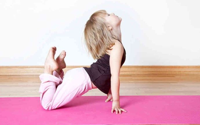 yoga for kid - child's pose