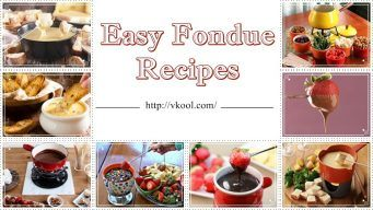 easy fondue recipes for kids