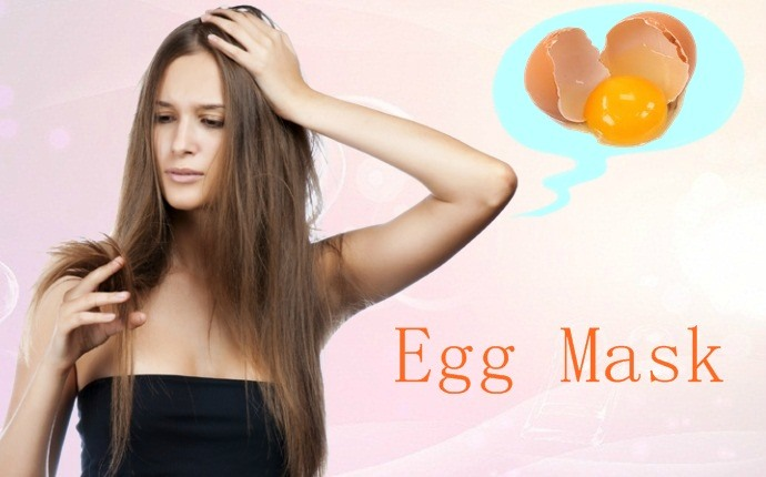 hair masks for split ends - egg mask