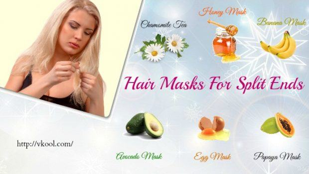 homemade hair masks for split ends