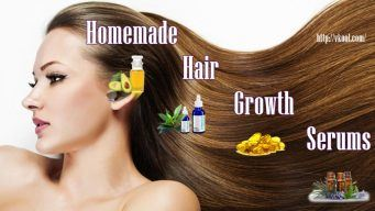 homemade hair growth serums