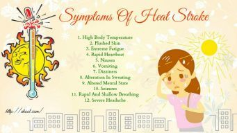 signs and symptoms of heat stroke