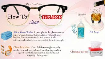 how to clean eyeglasses without streaks