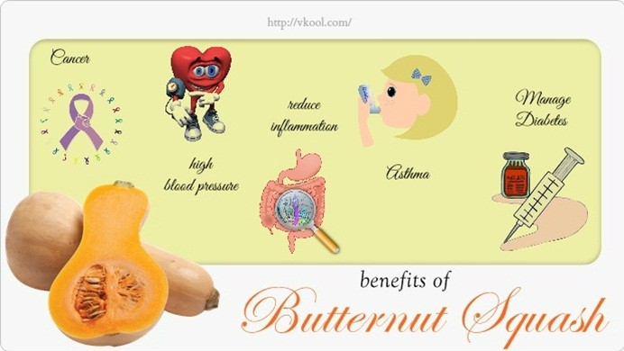benefits of butternut squash