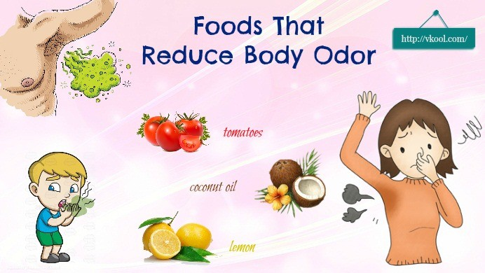 diet that reduces body odor