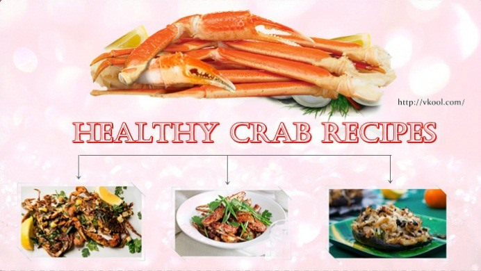 best healthy crab recipes