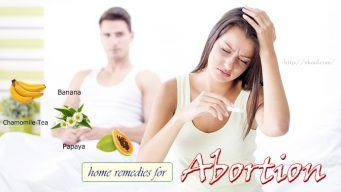 natural home remedies for abortion