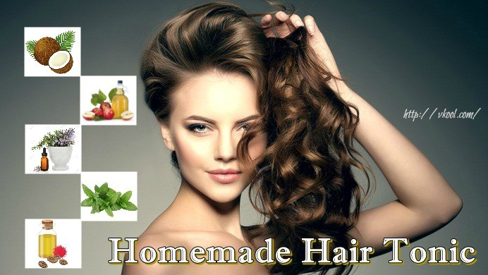 homemade hair tonic recipe