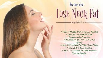 how to lose neck fat naturally