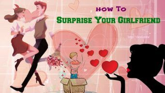 how to surprise your girlfriend at work