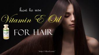 how to use vitamin e oil for hair at home