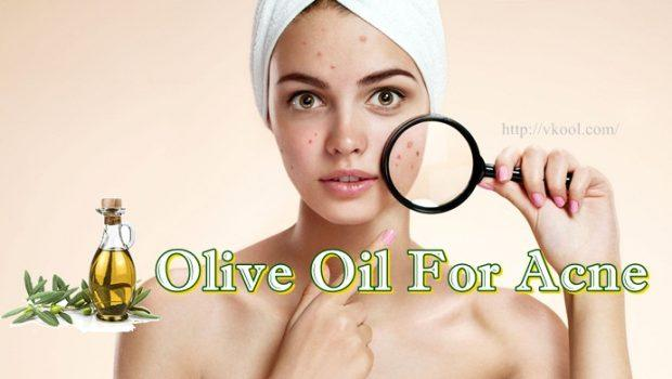 olive oil for acne treatment