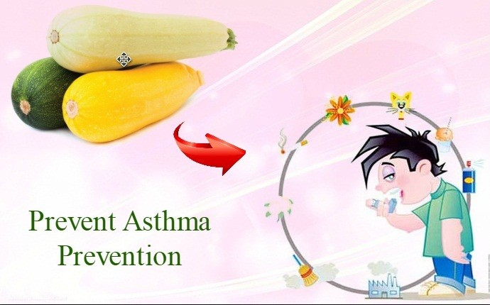 benefits of squash - prevent asthma prevention