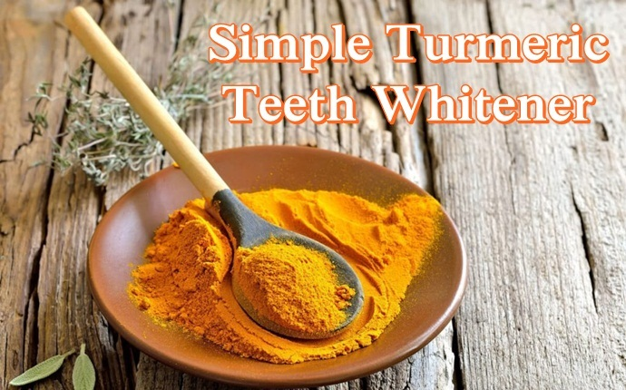 turmeric for teeth whitening - simple turmeric teeth whitener