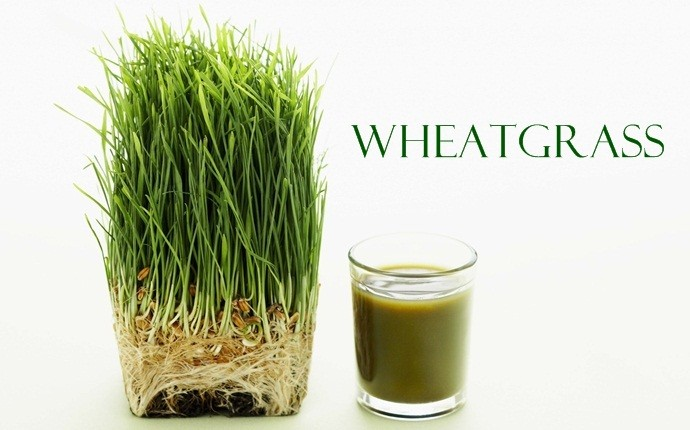 foods that reduce body odor - wheatgrass