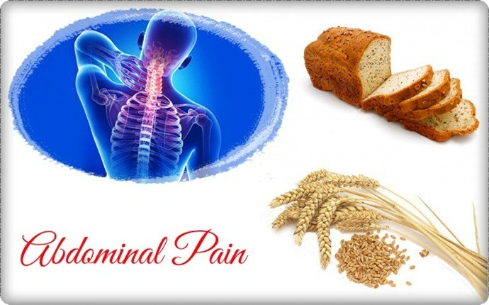symptoms of gluten intolerance - abdominal pain