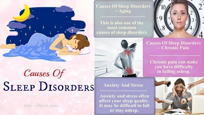common causes of sleep disorders