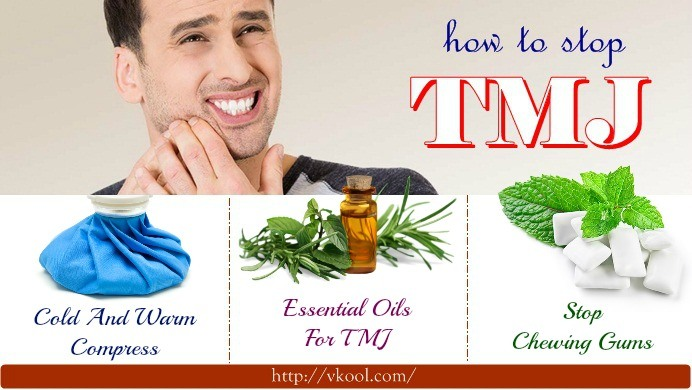 how to stop TMJ naturally