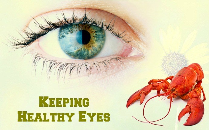 benefits of lobster - keeping healthy eyes