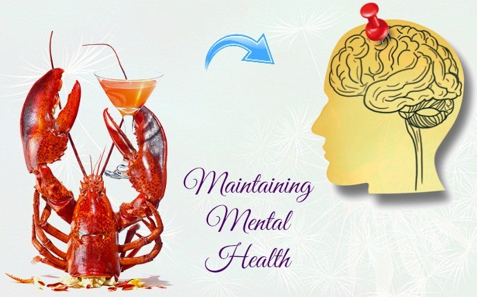 benefits of lobster - maintaining mental health