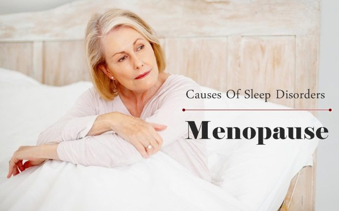 causes of sleep disorders - menopause