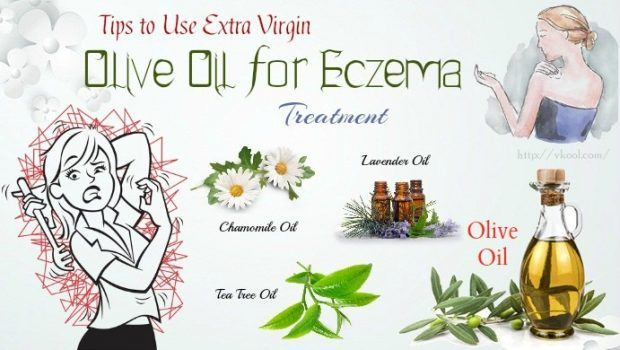 extra virgin olive oil for eczema