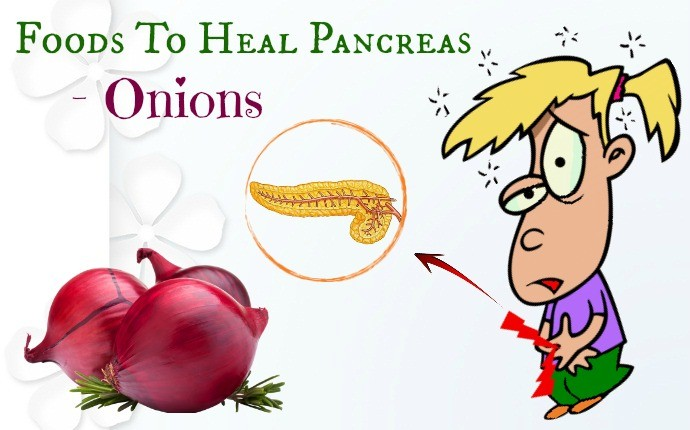 foods to heal pancreas - onions