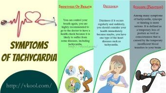 causes and symptoms of tachycardia