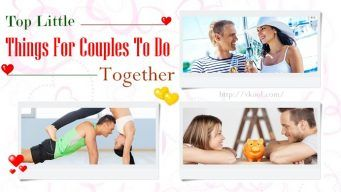 little things for couples to do
