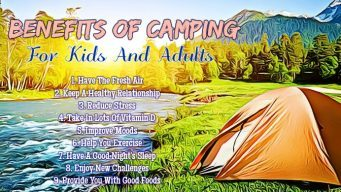 benefits of camping for kids