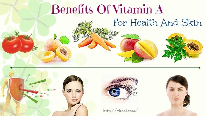 benefits of vitamin A for health