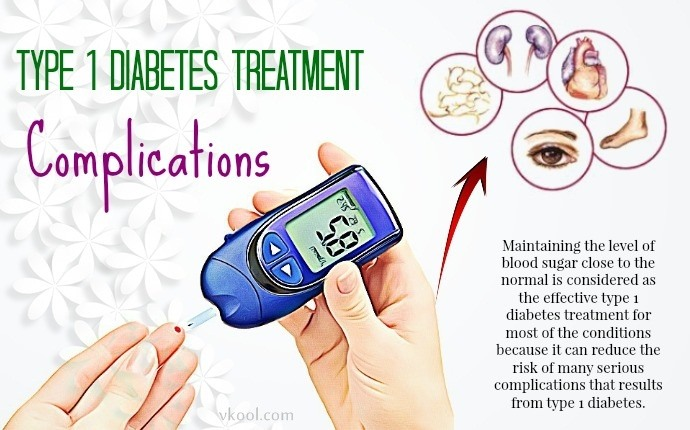 type 1 diabetes treatment - complications