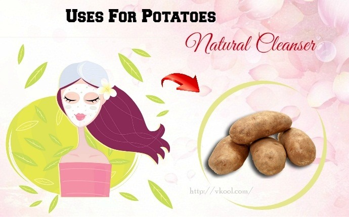 uses for potatoes - natural cleanser