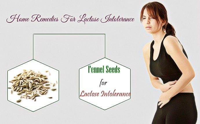 home remedies for lactose intolerance - fennel seeds