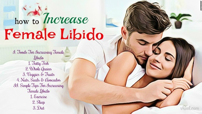 how to increase female libido naturally