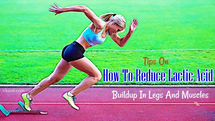 how to reduce lactic acid in legs
