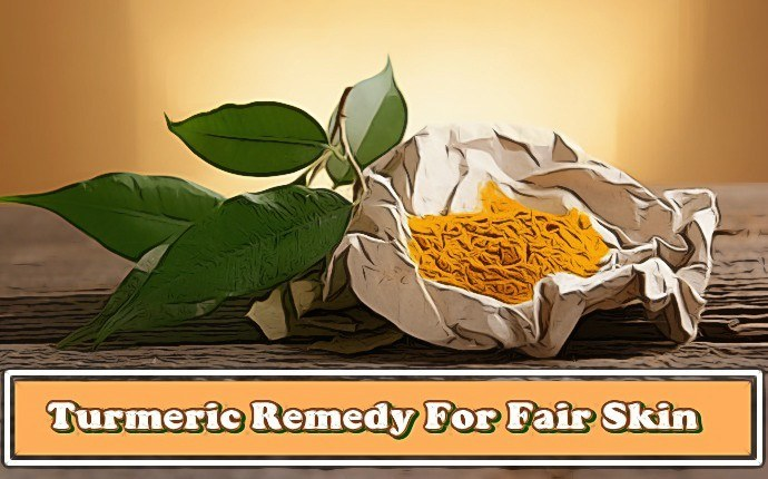 home remedies for fair skin - turmeric